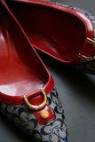 High Heel Shoes. Woman shoes, stylish high heels Royalty Free Stock Photography