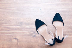 High heel shoes background Royalty Free Stock Photo