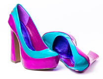 High heel shoes Stock Images