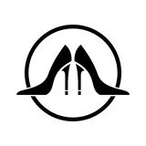 High heel shoes  icon Stock Photo