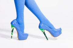 High heel shoes Stock Photography