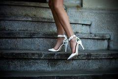 High heel shoes Royalty Free Stock Photos