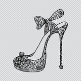 High heel shoes. Stock Photography
