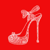High heel shoes. Royalty Free Stock Photo