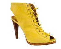 High heel summer woman shoe Royalty Free Stock Photos