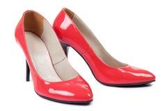 High heel women shoes Stock Photos