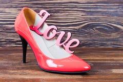 High heel women shoes Royalty Free Stock Photos