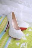 High-heeled ботинки Стоковая Фотография RF