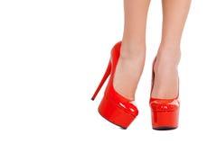 High heeled elegance. Stock Photography