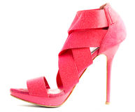 High heeled shoe Royalty Free Stock Images