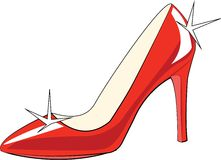 High Heeled Shoe Stock Photography