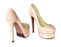 High heeled shoes Royalty Free Stock Photography