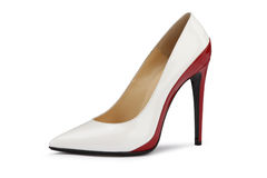 High  heeled shoes Royalty Free Stock Image