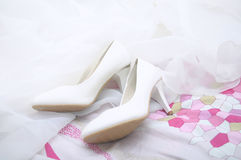 High-heeled skor Royaltyfri Fotografi