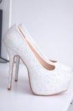 High-heeled skor Royaltyfria Bilder