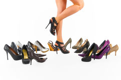 High heels Stock Image