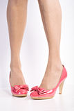 High Heels. Close up shot of a pair of High Heels Royalty Free Stock Images