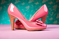 High Heels. Close up shot of a pair of High Heels Royalty Free Stock Photo