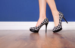 High heels Stock Images