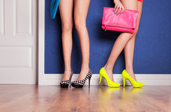 High heels Royalty Free Stock Photos