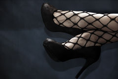 High Heels On Air Royalty Free Stock Images