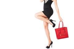 High heels and handbeg Royalty Free Stock Photo