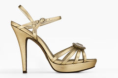 High heels. Image is posed on white background Royalty Free Stock Images