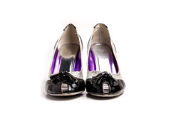 High heels isolated at plain white Royalty Free Stock Photography
