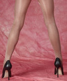 High Heels and Pantyhose Royalty Free Stock Photo