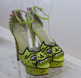 High heels sandals Royalty Free Stock Photo