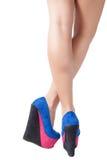 High heels. Sexy legs in high heels Stock Images