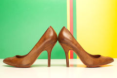 High heels shoes Royalty Free Stock Photos
