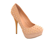 High heels with targets Stock Photography