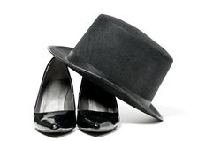 High Heels and Top Hat Stock Photo