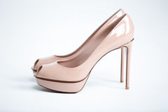High heels  on white background Stock Photography