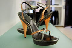 High heels women shoes royalty free stock image