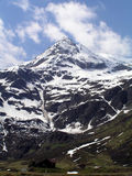High hills in Alps. Austrian alps Stock Photography
