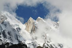 High Himalayan mountain Stock Photo