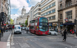 High Holborn street in London Royalty Free Stock Photos
