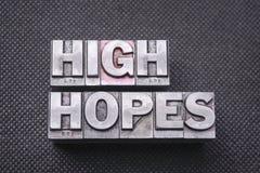 High hopes bm Royalty Free Stock Images