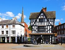 The High House, Hereford. Stock Photo