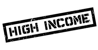 High Income rubber stamp Royalty Free Stock Image