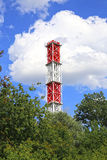 High industrial chimney Royalty Free Stock Photography