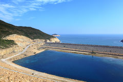 High Island Reservoir. In Hong Kong Geo Park Stock Images