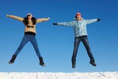 In high jump Stock Photos