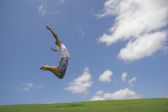 High Jump Royalty Free Stock Photos