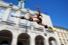 High jump royalty free stock images