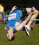 High Jump Canada Man Over Bar Stock Images