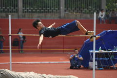 High jump competition Royalty Free Stock Image