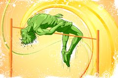 High Jump vector illustration